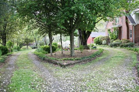 driveway roundabout ideas driveway roundabout farmhouse pinterest trees we and a house