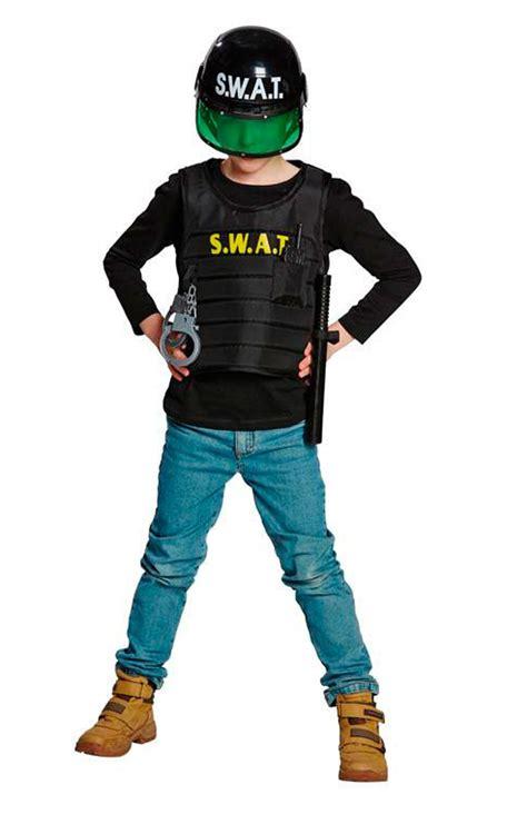 fasching kostüm junge set swat kost 252 m mit helm polizei kinder junge fasching karneval kinderkost 252 m ebay