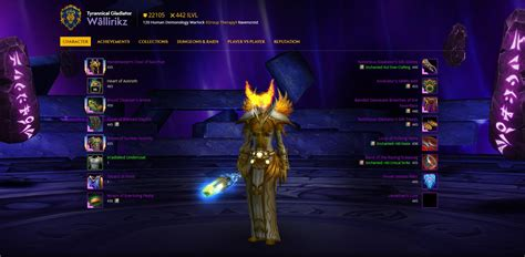 warlock pvp destruction bfa classic wow race gear talents essences macros rank skill traits guide death talent alliance leveling skills