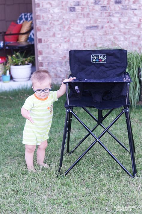 ciao baby portable high chair review sprinkle some