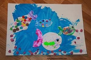 Activité Manuelle 3 Ans : activit manuelle sur le th me des poissons tableau ~ Melissatoandfro.com Idées de Décoration