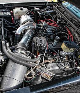 Engine Compartment Of A Buick Grand National Photograph By