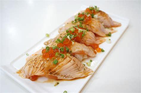 closeup salmon   royalty  stock