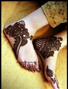 Mehndi Designs for Feet Fingers