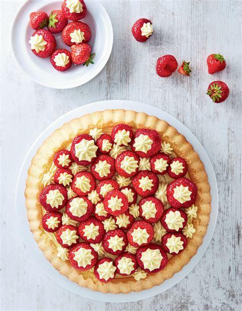 recettes de cuisine 3 biscuit aux fraises crème mousseline pour 6 personnes