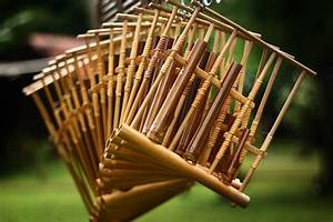 Angklung musical instrument of Indonesia