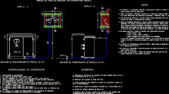 Box Auto Dwg by Metering Box Re Transforer 45kva Dwg Block For Autocad
