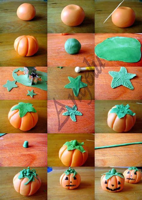 citrouilles en p 226 te 224 sucre sugarpaste pumpkins ma