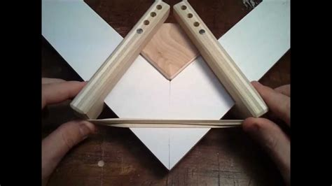 picture frame clamp idea youtube
