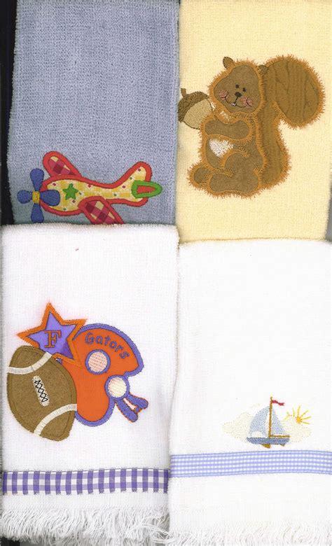 Fingertip Towel Burp Cloths Janice Ferguson Sews
