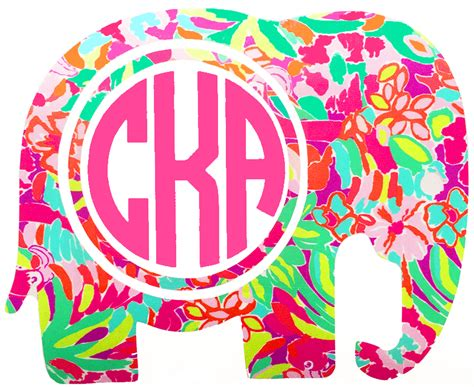 lilly pulitzer elephant print gallery