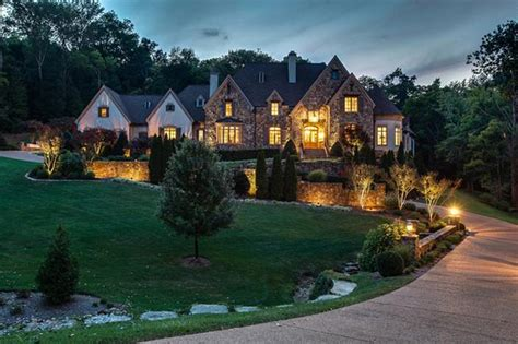 square foot french country mansion  franklin tn