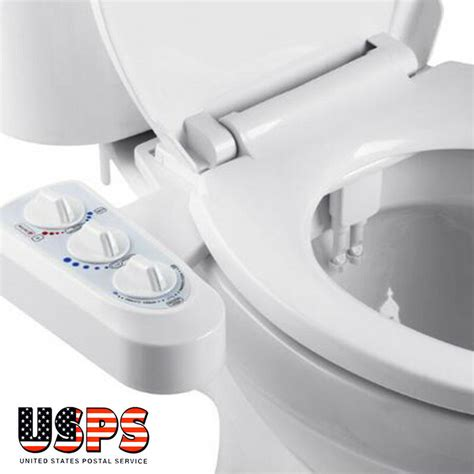 Toilet Attachment Bidet - dual nozzle cold water spray non electric bidet