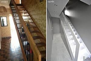 Transformation complète d'une maison des années 70, par Relooking Déco Actuel