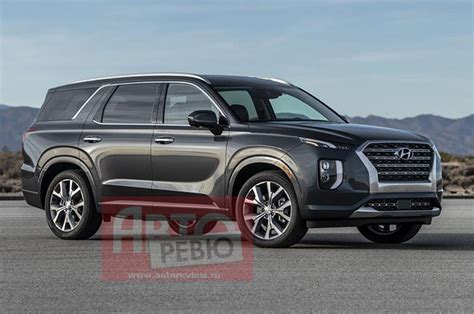 hyundai palisade suv leaked   official unveil