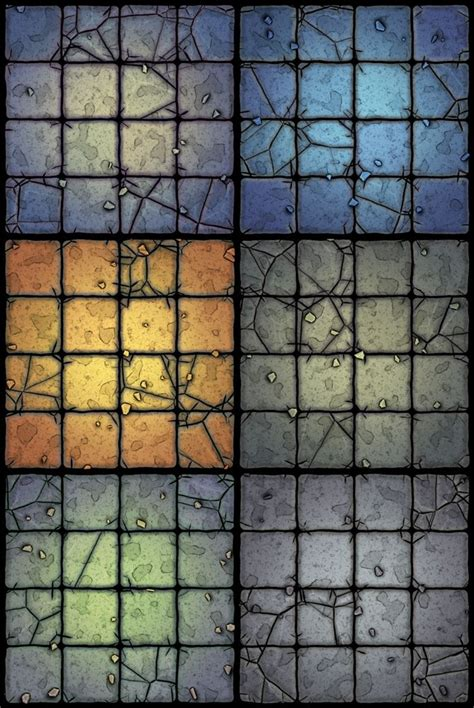 Dungeons And Dragons Tile Sets Pdf by Custom Tile Set Wip Dungeons Dragons Castle Ravenloft