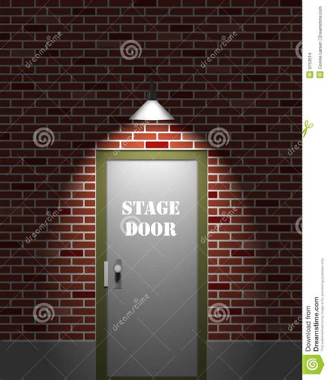 stage door theater theater stage door stock images image 9753514
