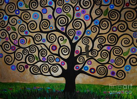 black throw pillows the tree of painting by black