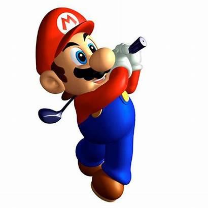 Mario Super Golf 64 Clip Clipart Graphics