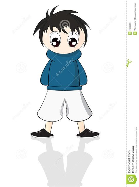anime royalty free anime boy stock vector illustration of