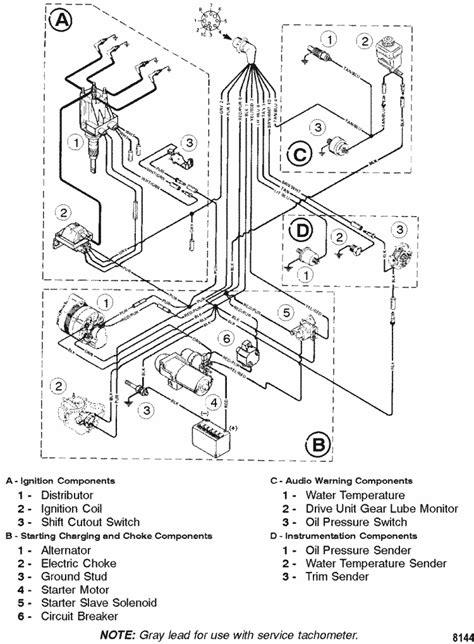 MerCruiser 3.0L GM 181 I / L4 Wiring Harness Parts