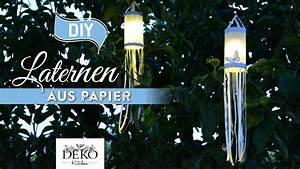 Deko Kitchen : diy h bsche papier laternen mit stoffb ndern how to deko kitchen youtube ~ A.2002-acura-tl-radio.info Haus und Dekorationen