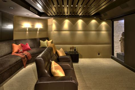 watson home theater contemporary home theater los