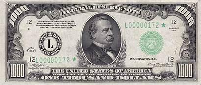 1000 Note Usd 1934 Series Obverse Dollar