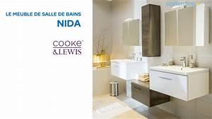 meuble de salle de bains nida cooke lewis 643899 With meuble salle de bain solde castorama