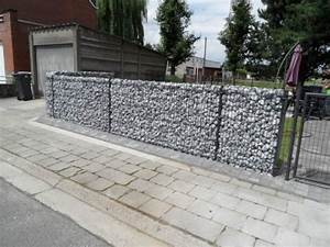 Mur De Cloture En Gabion : stunning cloture jardin gabion gallery design trends ~ Edinachiropracticcenter.com Idées de Décoration