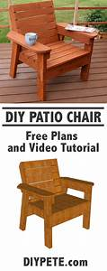 Learn, How, To, Build, A, Patio, Chair, This, Is, A, Fun, And, Simple, Project, You, Can, Tackle, Have, F