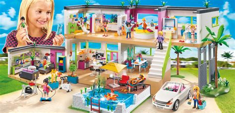 Bobs Living Room Furniture by Playmobil 5574 Moderne Luxusvilla Kaufen Mifus De