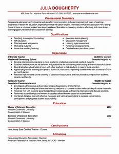 free resume examples by industry job title livecareer With best teacher resume examples