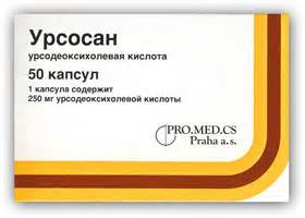 Лекарство для печени урсосан цена
