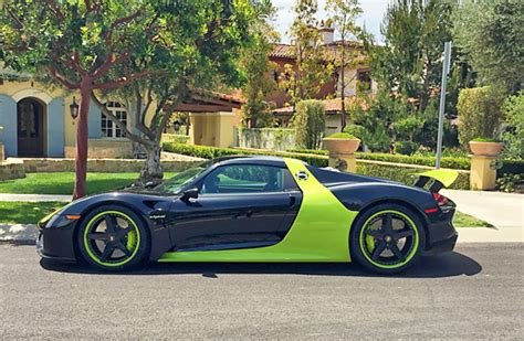porsche custom paint porsche 918 spyder gfg fm707 giovanna luxury wheels