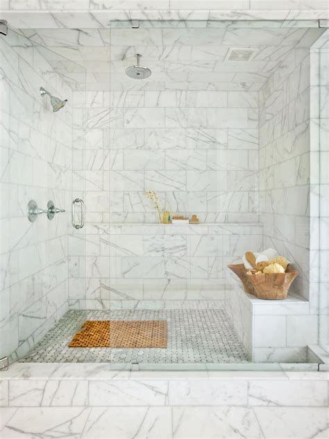 bathroom marble tile bathroom shower designs hgtv