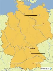 Schönsten Städte Deutschland : deutschland st dte und fl sse von rubyruebe landkarte f r deutschland ~ Frokenaadalensverden.com Haus und Dekorationen