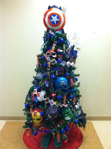 superhero tree idea superhero christmas tree christmas