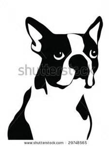 Boston Terrier Clip Art