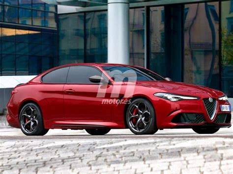 El Alfa Romeo Giulia Coupé Llegará Antes De 2020 Al