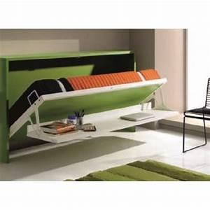 Lit Une Place Ikea : armoire lit 1 place armoires lits escamotables armoire lit transversale city avec bureau ~ Teatrodelosmanantiales.com Idées de Décoration