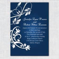 blue wedding invitations blue wedding invitations for 2014 wedding trends invitesweddings