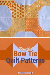 basic bow tie quilt block favequiltscom