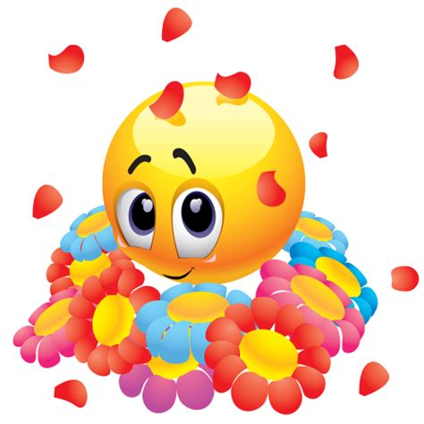 sweet emoticon  flowers emoticon flowers  smileys