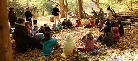 forest school kortright centre  conservation