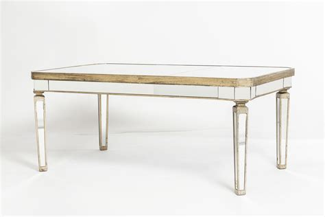 mirror dining table mirrored table l 100 mirrored dining