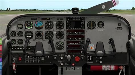5 Light Aircraft Cockpit Images