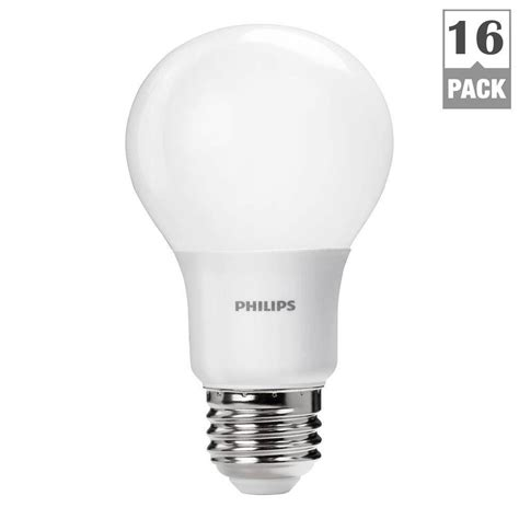 philips a19 dimmable led l philips 40w equivalent daylight non dimmable a19 led light