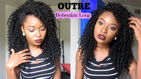 Outre Quick Weave Half Wig In