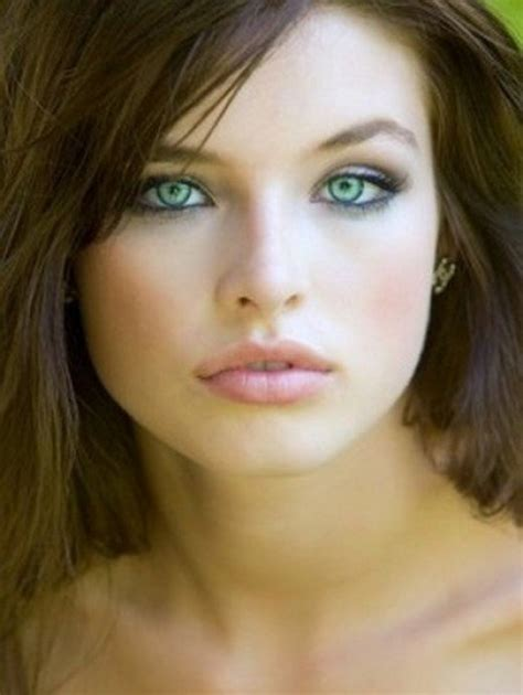 Actresses With Brown Hair And Green by Makeup For Fair Skin Brown Hair And Green Bellatory